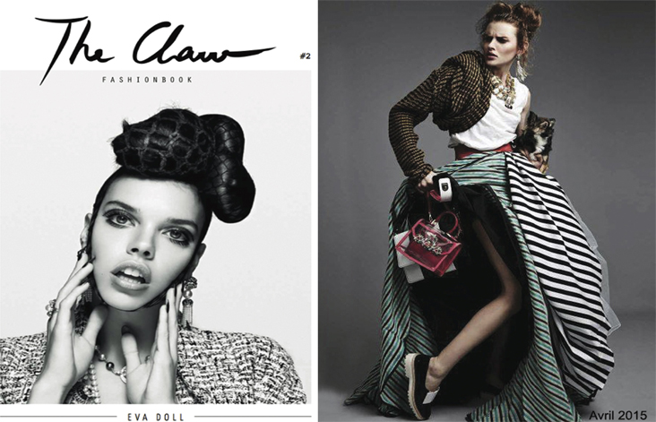 The Claw Fashion Book