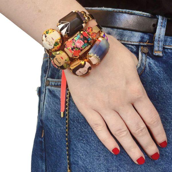 Frida Andy Joconde bracelet porté
