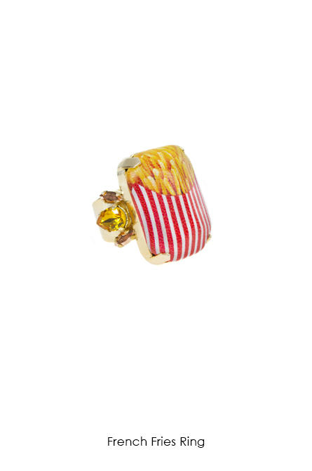 French Fries Ring-SS18 Collection-Bijoux de Famille