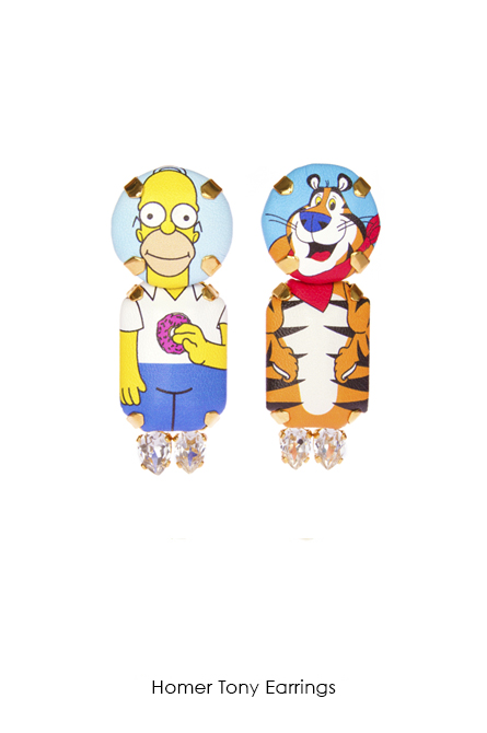 Homer Tony Earrings-SS18 Collection-Bijoux de Famille