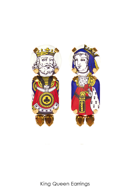 King Queen Earrings-SS18 Collection-Bijoux de Famille