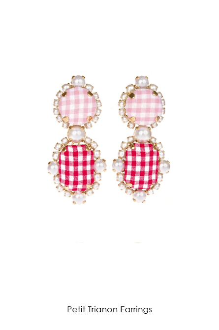 Petit Trianon Earrings-SS18 Collection-Bijoux de Famille
