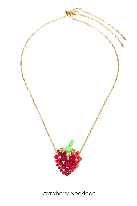 Strawberry Necklace-SS18 Collection-Bijoux de Famille