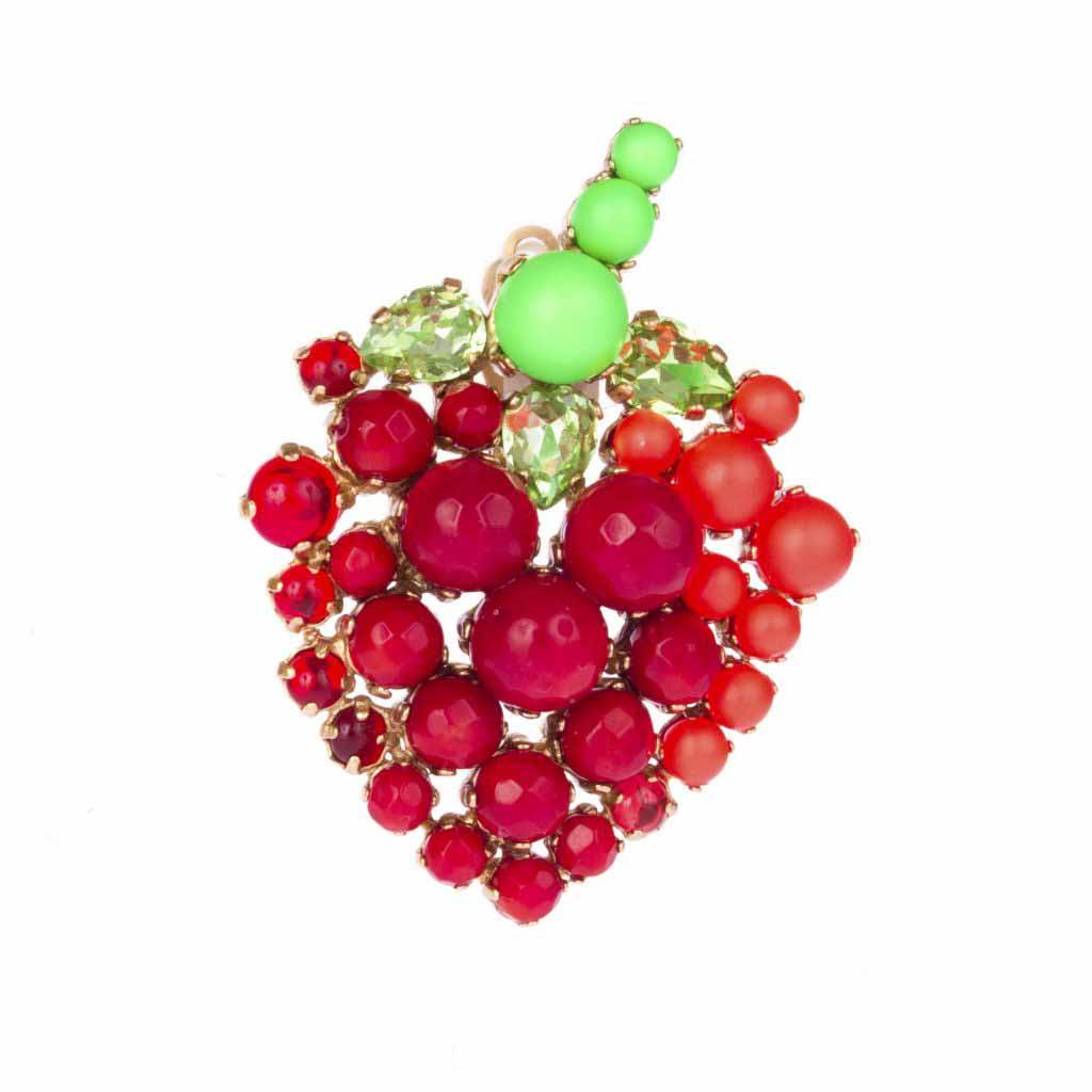Strawberry Brooch