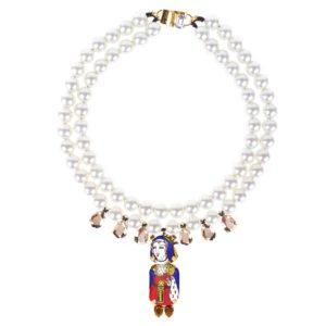 Collier Queen Pearl -Bijoux de Famille
