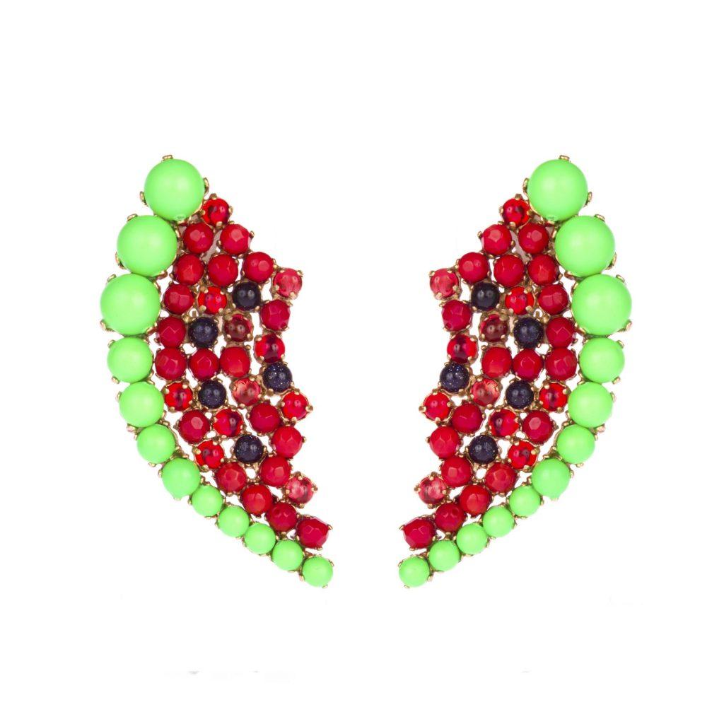 Boucles d'oreilles Watermelon