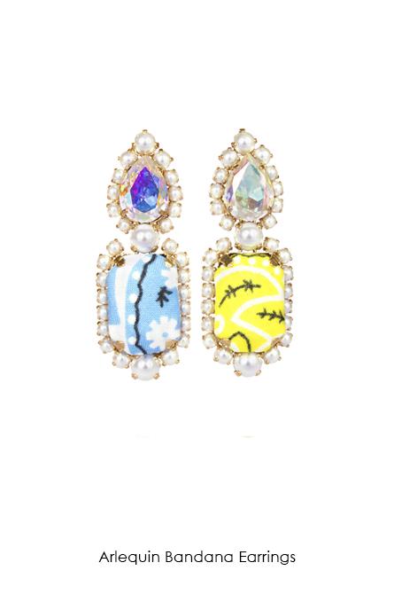 Arlequin-Bandana-earrings-Bijoux-de-Famille
