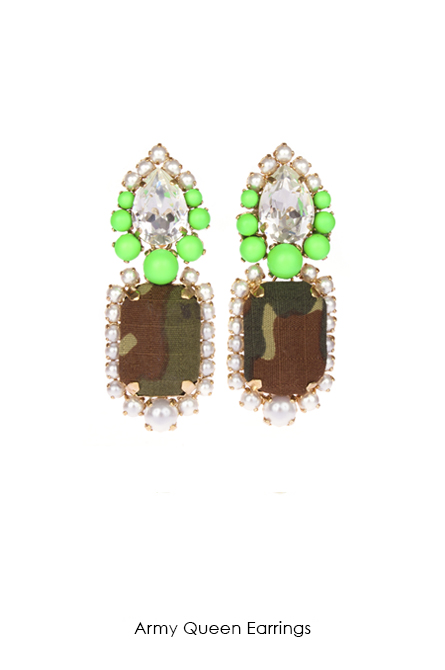 Army -Queen-earrings-Bijoux-de-Famille