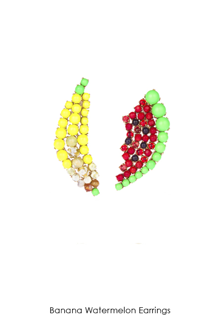 Banana-Watermelon-earrings-Bijoux-de-Famille