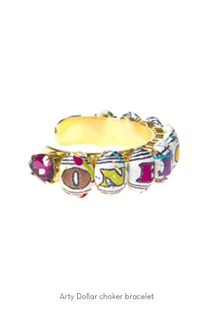 arty-dollar-choker-bracelet-Bijoux-de-Famille