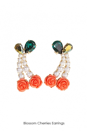 blossom-cherries-earrings-Bijoux-de-Famille