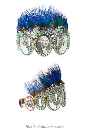 blue-bird-choker-bracelet-Bijoux-de-Famille