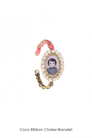 coco-ribbon-choker-bracelet-Bijoux-de-Famille
