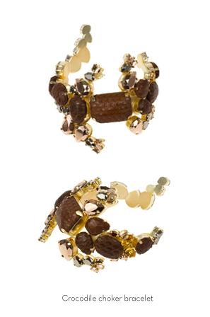 crocodile-choker-bracelet-Bijoux-de-Famille