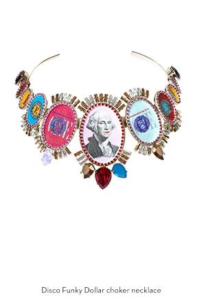 disco-funky-dollar-choker-necklace-Bijoux-de-Famille