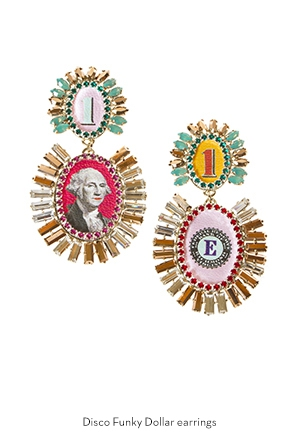 disco-funky-dollar-earrings-Bijoux-de-Famille