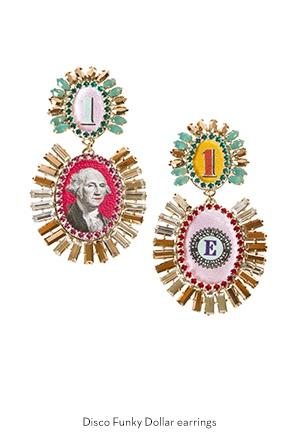 disco-funky-dollar-earrings-Bijoux-de-Famille
