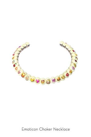 emoticon-choker-necklace-Bijoux-de-Famille