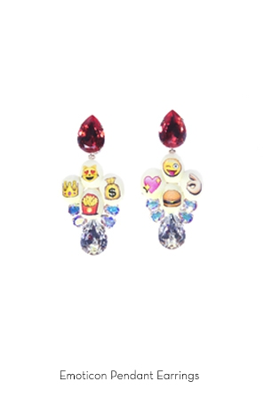 emoticon-pendant-earrings-Bijoux-de-Famille
