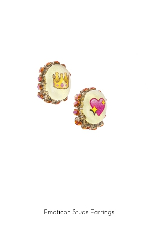 emoticon-studs-earrings-Bijoux-de-Famille