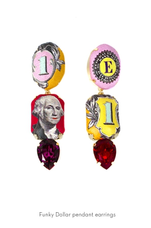 funky-dollar-pendant-earrings-Bijoux-de-Famille