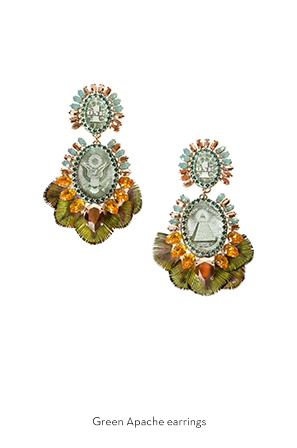 green-apache-earrings-Bijoux-de-Famille