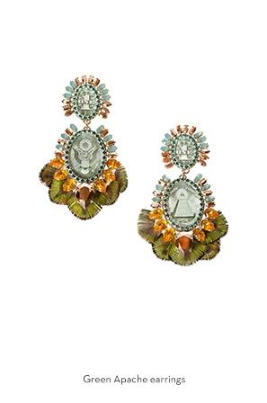 green-apache-earrings-Bijoux-de-Famille