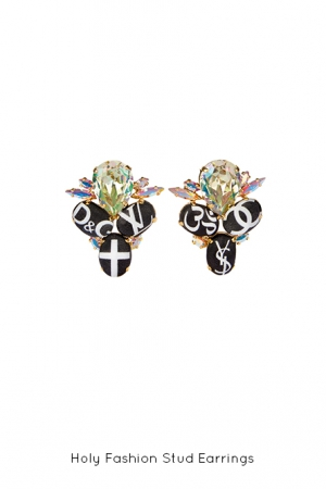 holy-fashion-stud-earrings-Bijoux-de-Famille