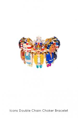 icons-double-chain-choker-bracelet-Bijoux-de-Famille