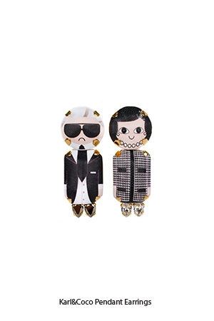 karl-coco-pendant-earrings-Bijoux-de-Famille