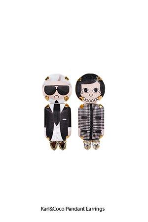 karl-coco-pendant-earrings-Bijoux-de-Famille