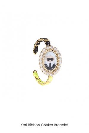 karl-ribbon-choker-bracelet-Bijoux-de-Famille