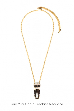 karl-mini-chain-pendant-necklace-Bijoux-de-Famille