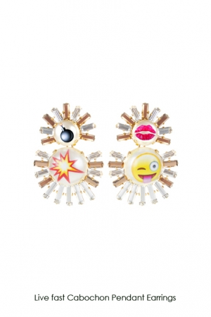 livefast-cabochon-pendant-earrings-Bijoux-de-Famille
