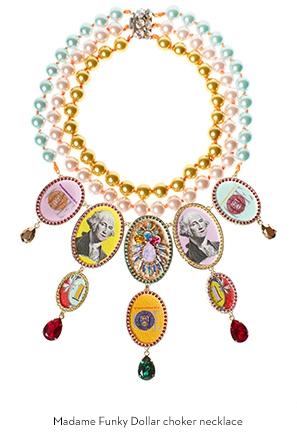 madame-funky-dollar-choker-necklace-Bijoux-de-Famille