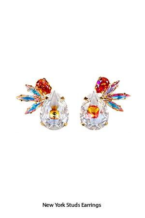 new-york-studs-earrings-Bijoux-de-Famille