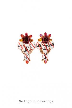 no-logo-stud-earrings-Bijoux-de-Famille