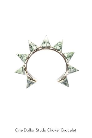 one-dollar-studs-choker-bracelet-Bijoux-de-Famille
