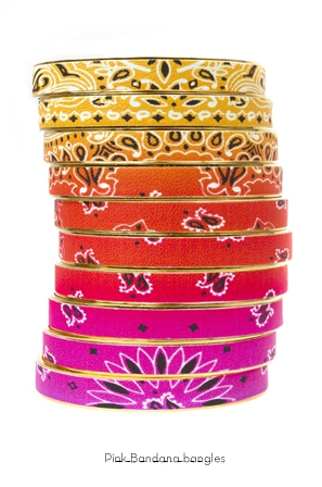 pink-bandana-bangles-Bijoux-de-Famille