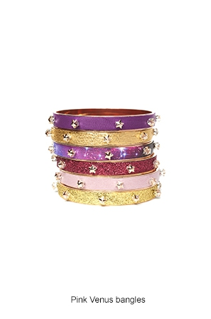 pink-venus-bangles-Bijoux-de-Famille