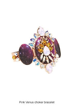 pink-venus-choker-bracelet-Bijoux-de-Famille