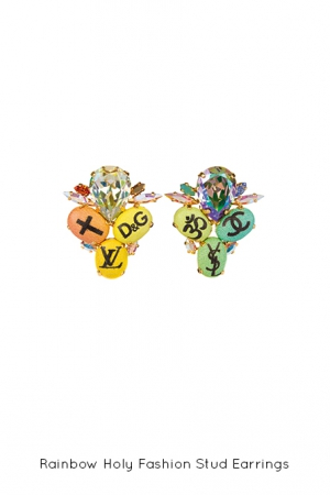 rainbow-holy-fashion-stud-earrings-Bijoux-de-Famille