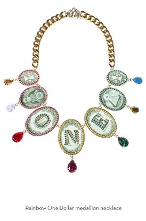 rainbow-one-dollar-medallion-necklace-Bijoux-de-Famille