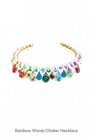 rainbow-words-choker-necklace-Bijoux-de-Famille