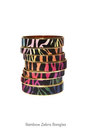 rainbow-zebra-bangles-Bijoux-de-Famille