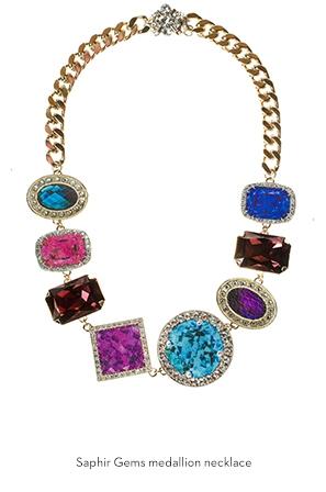 saphir-gems-medallion-necklace-Bijoux-de-Famille