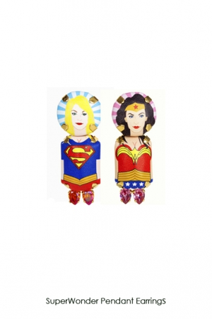 superwonder-pendant-earringssupergirl-pearl-cuff-Bijoux-de-Famille