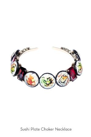 sushi-plate-choker-necklace-Bijoux-de-Famille
