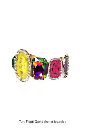 tutti-frutti-gems-choker-bracelet-Bijoux-de-Famille