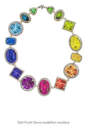 tutti-frutti-gems-medallion-necklace-Bijoux-de-Famille